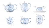 Form 1382/Blaublüten Teekanne klein 0.5lt