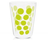 Dot Dot Teeglas grün, doppelwandig 35 cl