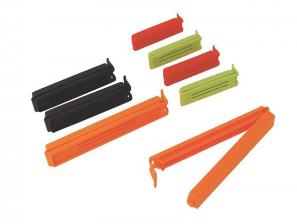Twixit Beutelverschluss 8er Set 4x5cm, 2x10cm, 2x13cm