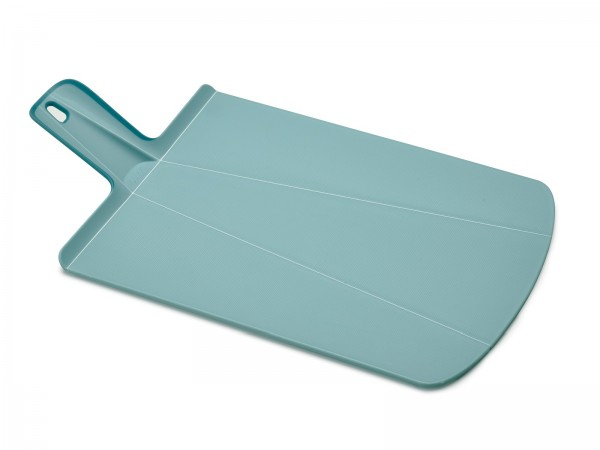 Chop2Pot Plus Schneidbrett gross hellblau 48x27x1cm