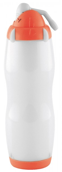 4x Cool Sip Bottle weiss/rot 50 cl
