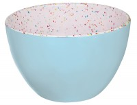 Schüssel blau/sprinkles 10 cm