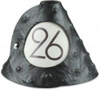 Tischnummer schwarz Strauss 10er-Set