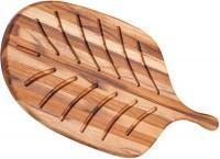 """Teak Brotbrett """"Canoe"""", 48x22.9x1.2 cm"""