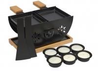 Flower Raclette-Set für 2 Personen