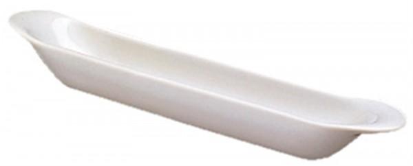 6x Olivenbaguette, 21x4x3 cm, weiss