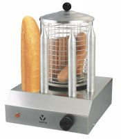 Hot Dog Maschine mit 4 Brothaltern
