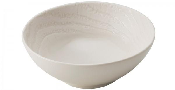 Suppenteller rund, H: 5.5 cm, Ø 14 cm, Elfenbein
