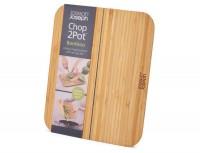 Chop2Pot Bamboo, Faltschneidebrett, klein, 25.5x21x1 cm