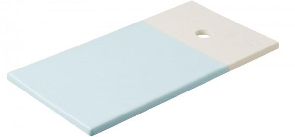 Color Lab Tablett rechteckig, 24.5x13x0.8 cm, blau