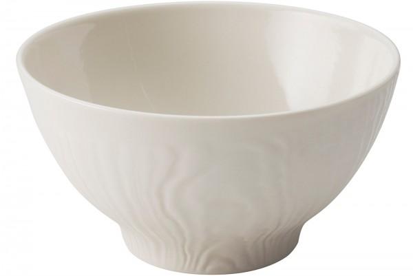 Frühstücksschüssel rund, H: 5 cm, Ø 15 cm, Elfenbein