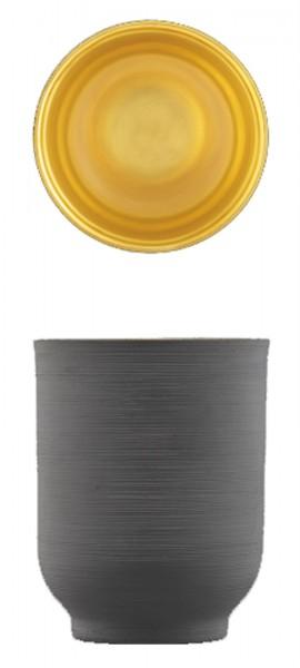 Omnia Becher anthrazit gold 0.25 lt.