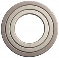 Ring Topfuntersetzer, 3-tlg., grau