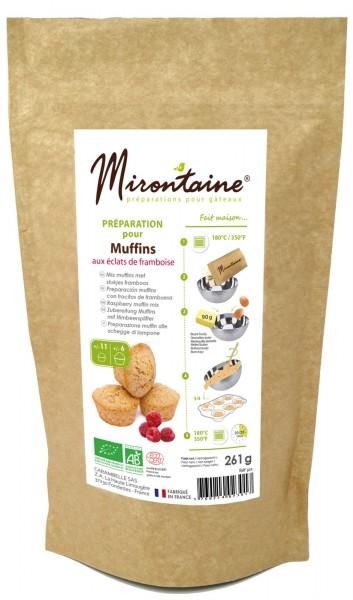 BIO Himbeer Muffins Backmischung, 260 g