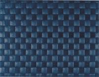 PP-Tischset gewebt, eckig, kobaltblau, 30x40 cm