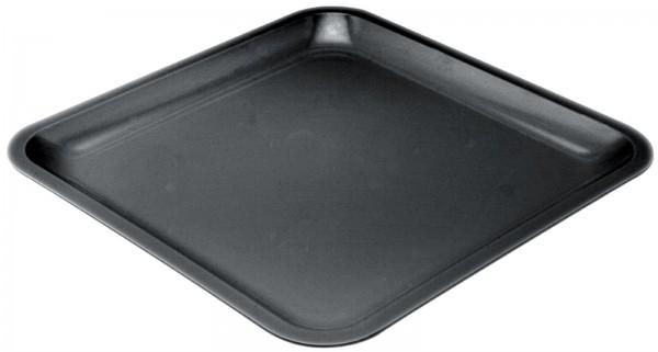 6x Seaside Platte schwarz 21.5 cm