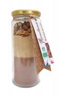 BIO Nuss-Brownie Backmischung im Glas, 330 g