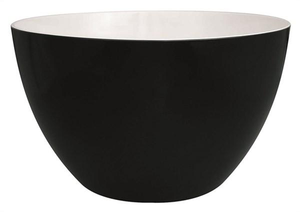 Duo Schüssel schwarz/weiss 28 cm