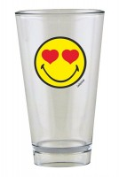Smiley Glas, Emoticon love 30 cl