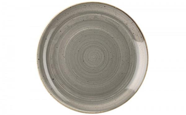 Stonecast Grau Teller coupe flach 16.5cm