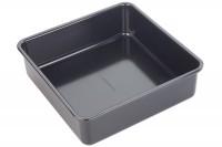 Backform Kuchen quadratisch, 23x23x4 cm, Antihaft
