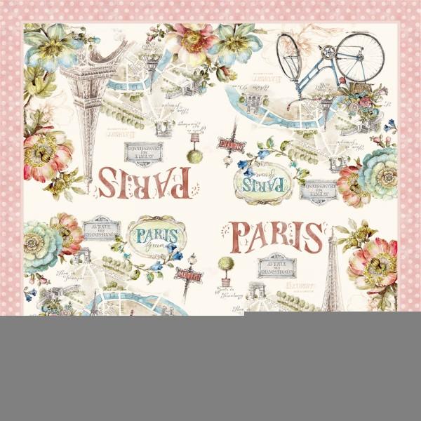 Paris forever Servietten 20 Stk., 33x33 cm