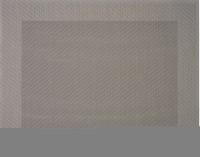 "Tischset ""Rahmen"", eckig, grau, 32x42 cm"
