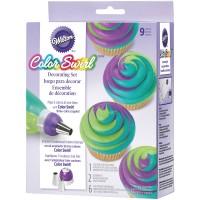 Color Swirl Dekorierset 9 tlg.