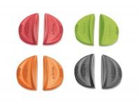 TWISTY 2 Stk. Wärmeschutz für Griffe, Silikon schwarz