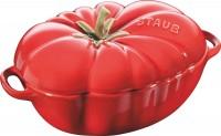 Cocotte 16 cm, Tomate, Kirsch-Rot, Keramik