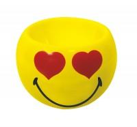 Smiley Eierbecher Emoticon love, Ø 6cm