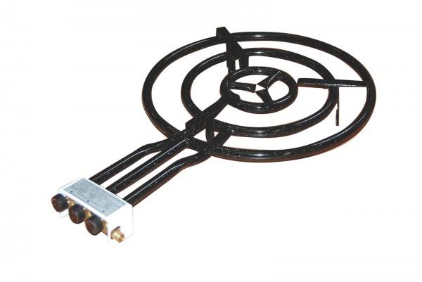 Gasbrenner aus Eisen, emailliert für Paella-Pfannen Ø 40cm