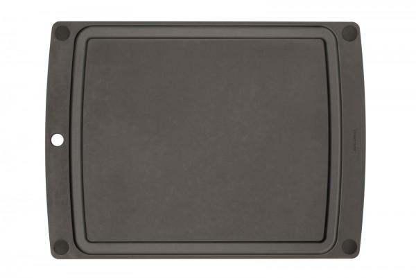 All-in-One Brett mit schwarzen Füssen, 50.8x38 cm, schwarz
