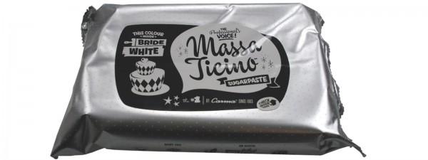 Massa Ticino Zucker Modelliermasse, weiss, 250 gr