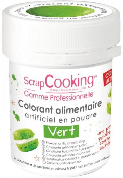 Farbpulver, grün, 5 g