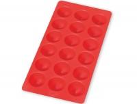Eiswürfelbehälter, rund, rot