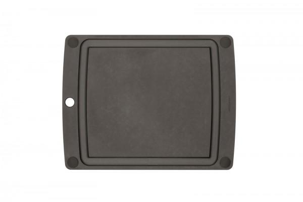 All-in-One Brett mit schwarzen Füssen, 37x28.5 cm, schwarz
