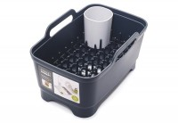 Wash&Drain Waschbehälter u. Abrtopfset, grau
