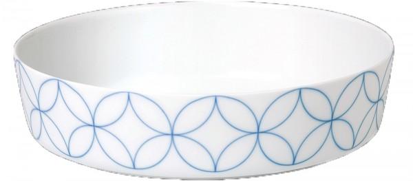 Seven Schale ø20.5cm Dekor Floral Blue