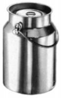 Milchkanne ohne Bodenreif 5 lt mit Deckel