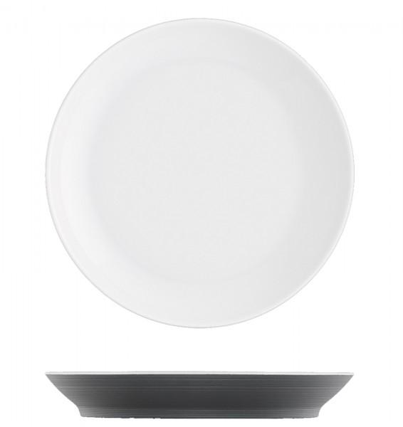 Omnia Frühstücksteller anthrazit ø19cm