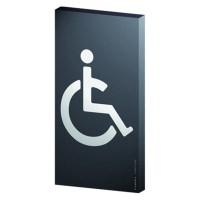 """Schild """"Behinderte"""" 8x15cm"""