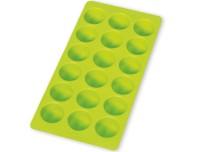 Eiswürfelbehälter, rund, grün