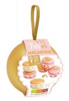 """Geschenkkugel gold """"Macarons"""", 3-tlg."""