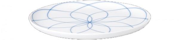Seven Teller klein ø16.5cm Dekor Floral Blue