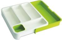 Besteckbehälter DrawerStore weiss/grün