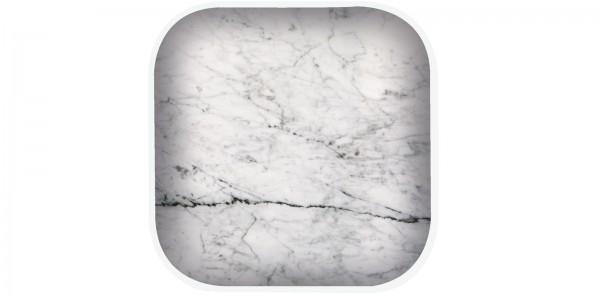 Osmos Untersetzer 4er Marmor Optik/weiss 10×10×1.1 cm
