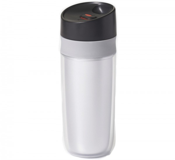 Travel Mug silber, 0.45 lt