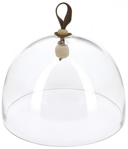 Glasglocke, H: 24 cm, Ø27.2 cm, klar passt zu RE650898
