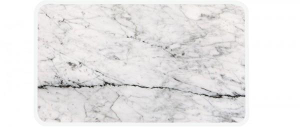 Osmos Servierbrett Marmor Optik/weiss 28×20×0.4 cm